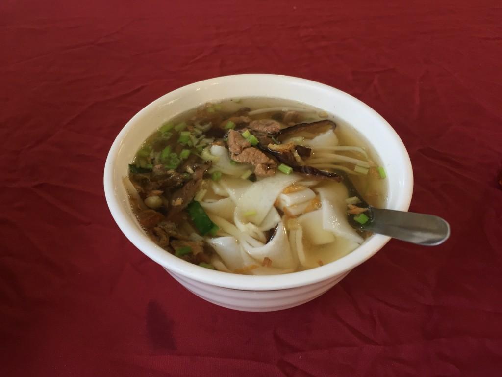 フォーみたいなやつでした、これは麺部門では台湾滞在中最高位に美味かったです!